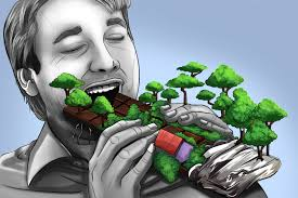 eating forests