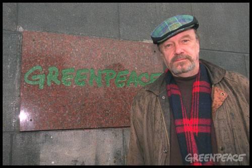 Bob Hunter, co-founder of Greenpeace